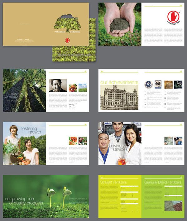 PK Fertilizers Brochure design Ideas 20+ Simple Yet Beautiful - pamphlet sample
