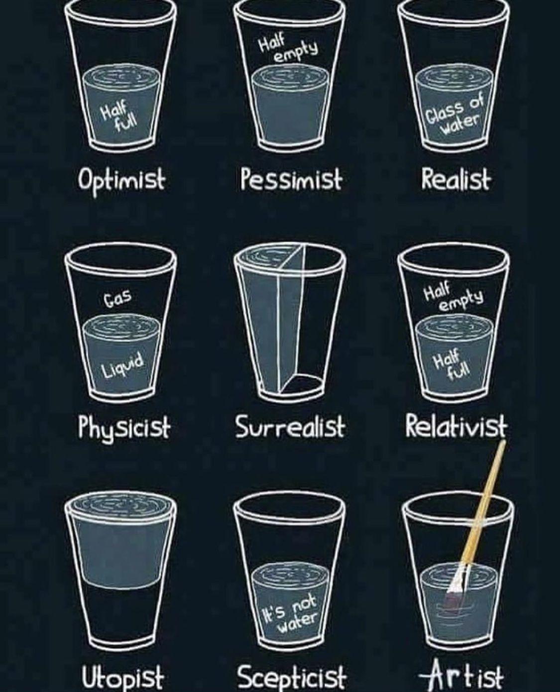 Glass Half Full Meme Engineer