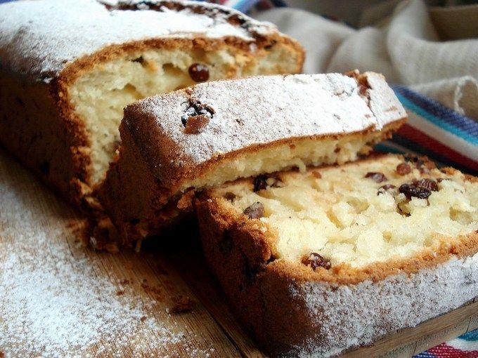 легкий домашний кекс с сметаной как приготовить