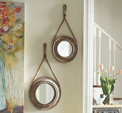 Set Of 2 Round Wall Mirrors From Country Door Mirror Wall Lighted Wall Mirror Round Wall Mirror