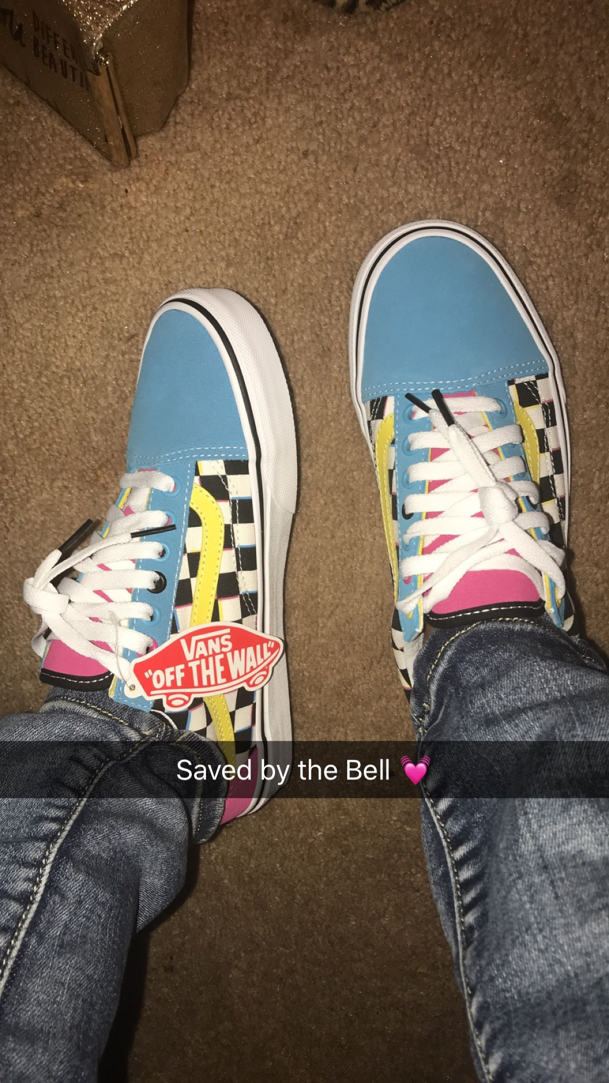 Colorful Vans Crazy Check Vans | Stylish shoes, Check vans