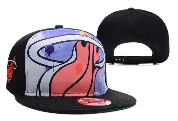 Awesome NBA Miami Heat Snapback hats new era boys cheap Adjustable  basketball caps only  6 pc ad8e835e055f
