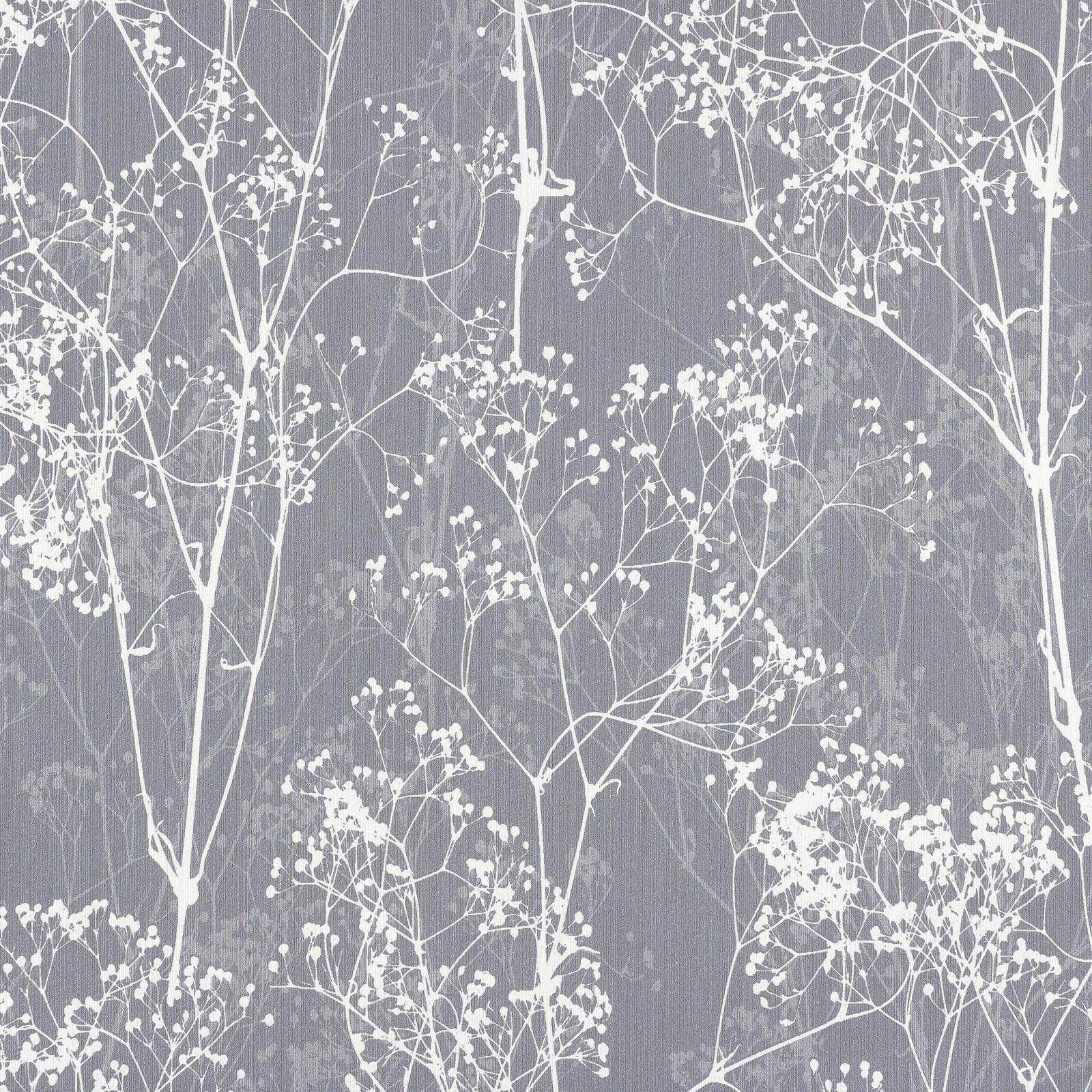 Rasch Tapete Deco Chic 2015 728613 Natur grau weiss | Home ...
