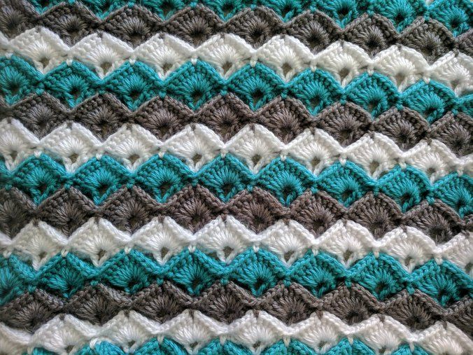 crochet box stitch free tutorial. It is so much fun