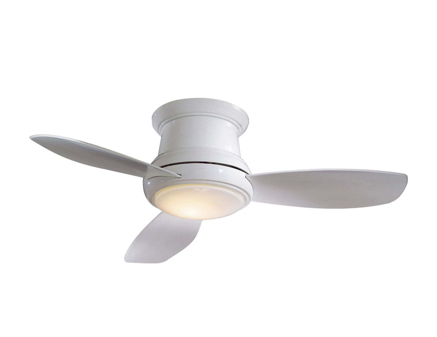 Minka Aire F518 Wh 44 Inch Concept Ii Flush Mount Ceiling Fan