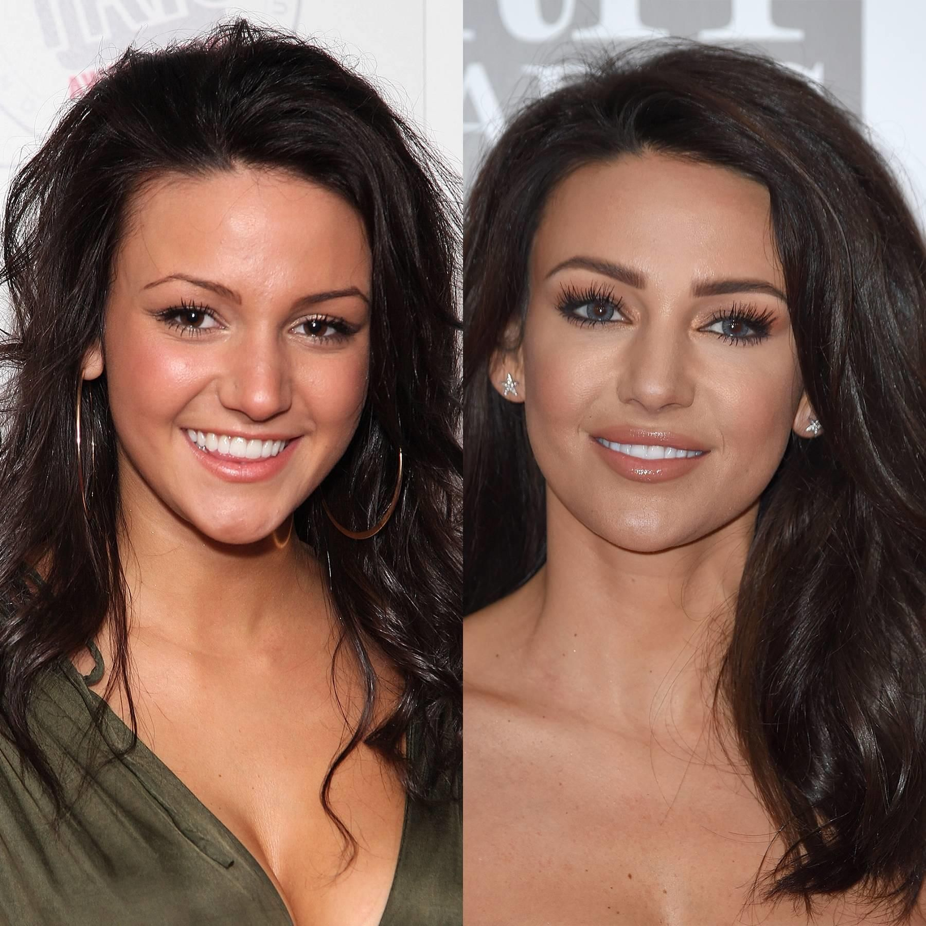 Celebrity eyebrow transformations: Thin vs Thick   Glamour ...