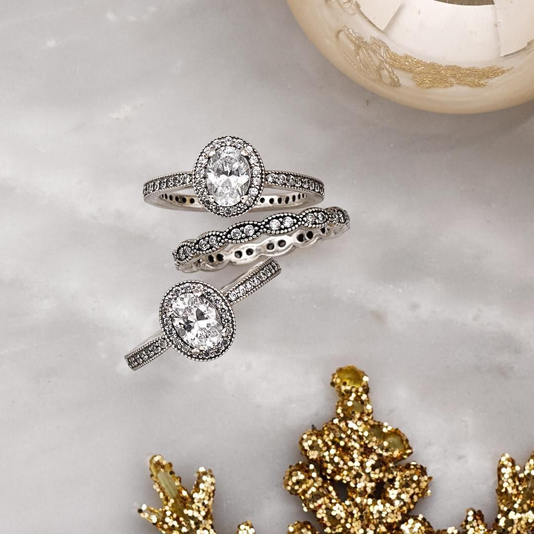 Go Vintage By Adding The Brand New Vintage Elegance Ring To Your