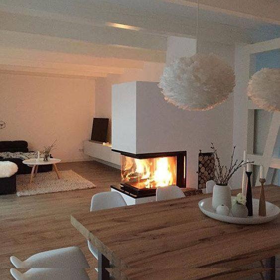 Wohndesign Skandinavien: Haus Wohnzimmer, Haus Und Heim, Kamin