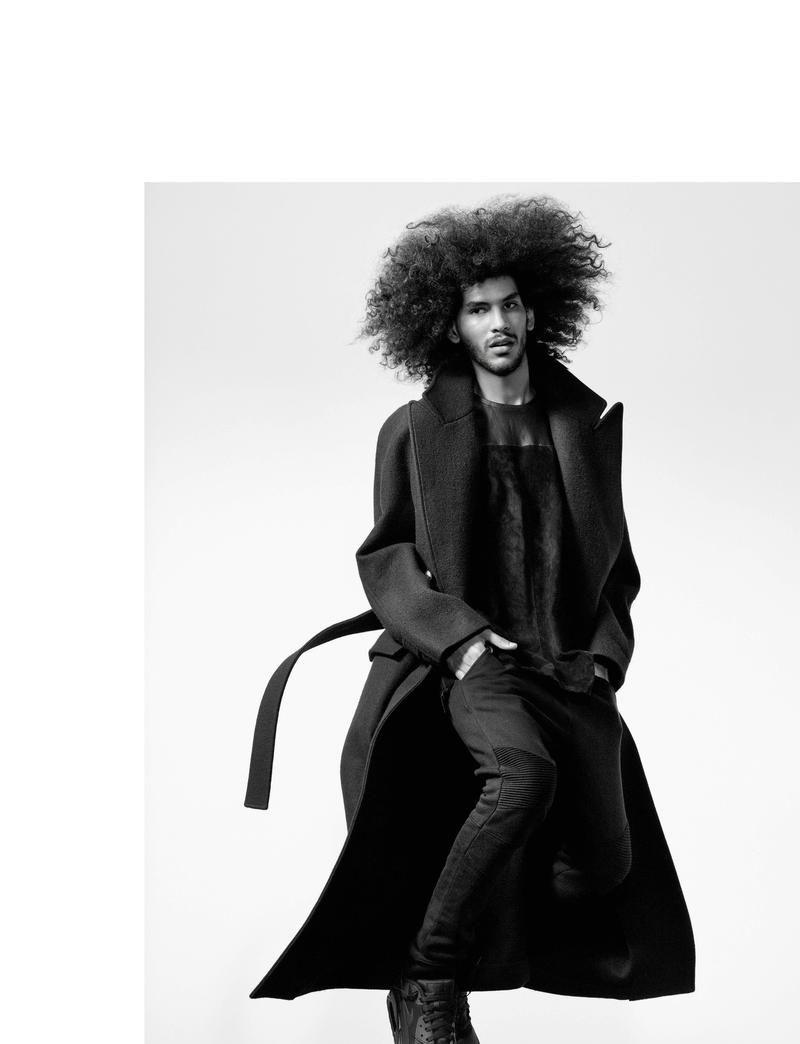 60s mod haircuts for men force de la jeunesse models leap into action for numéro homme