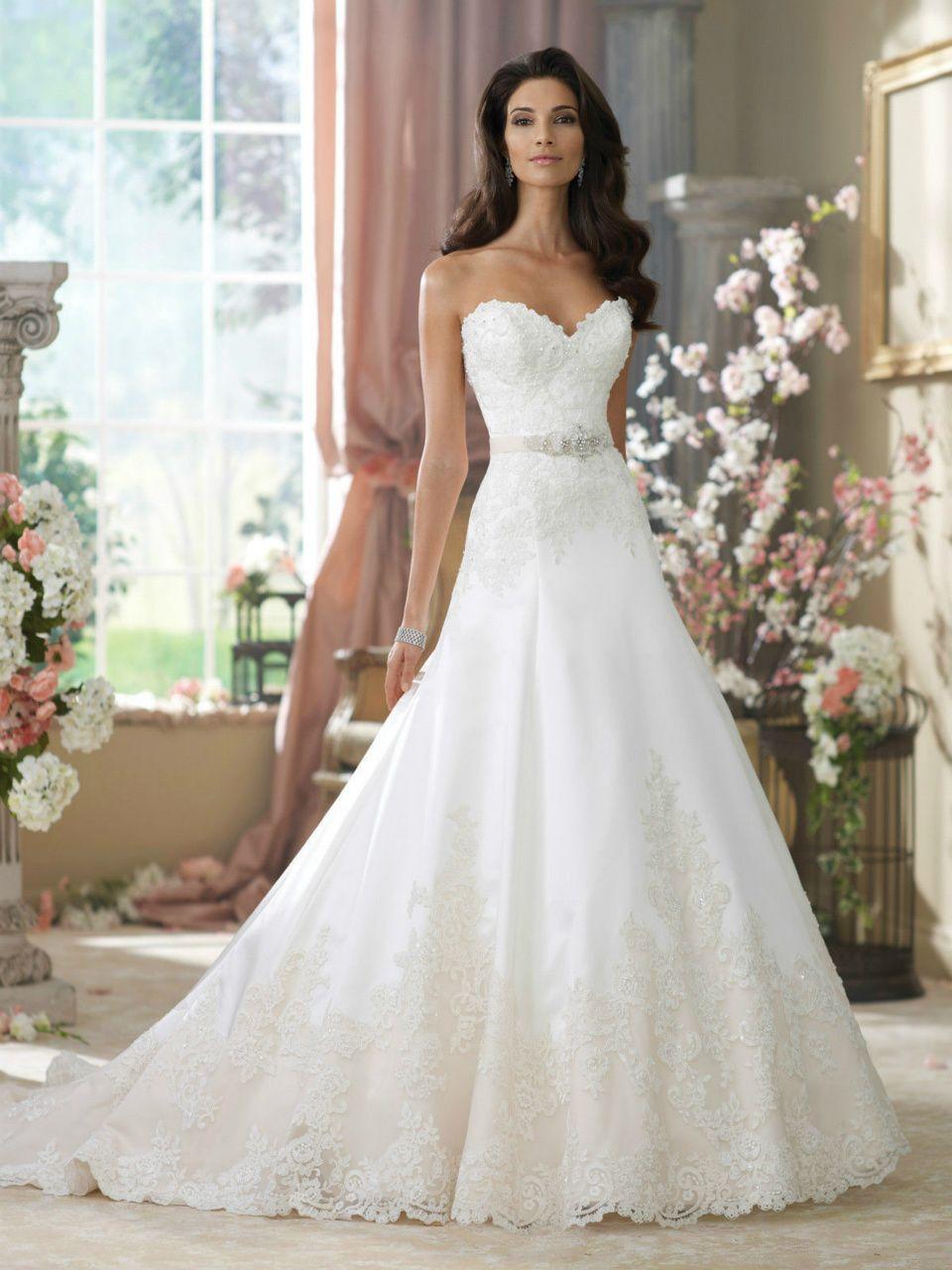 Brudekjoler 2015 densmukkekjole june kr 5295 best a line wedding dresses wedding gowns by david tutera for mon cheri fall 2014 ombrellifo Images
