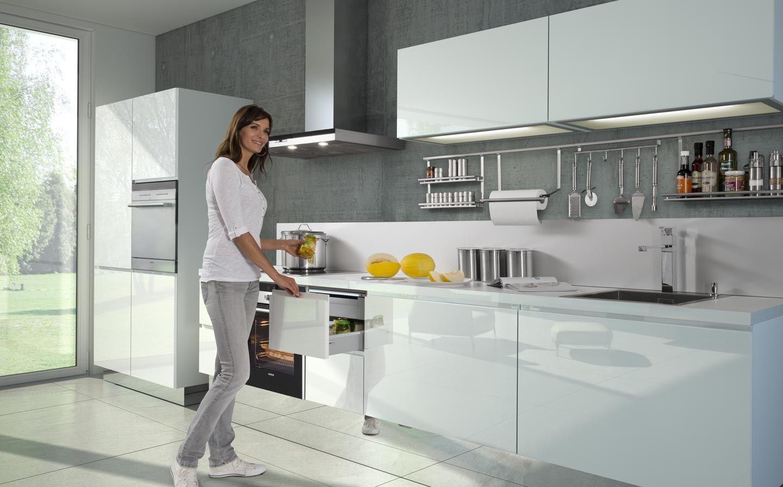 Einbauküche hochglanz Küchendesign modern, Nolte küche