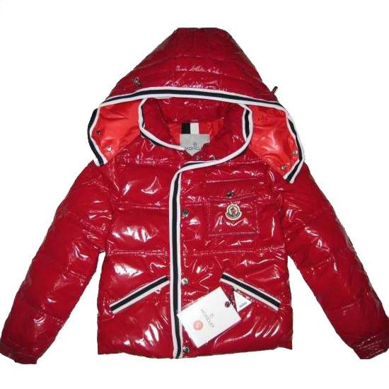 France Moncler Hooded Red Coat Moncler Kids online Top Seller