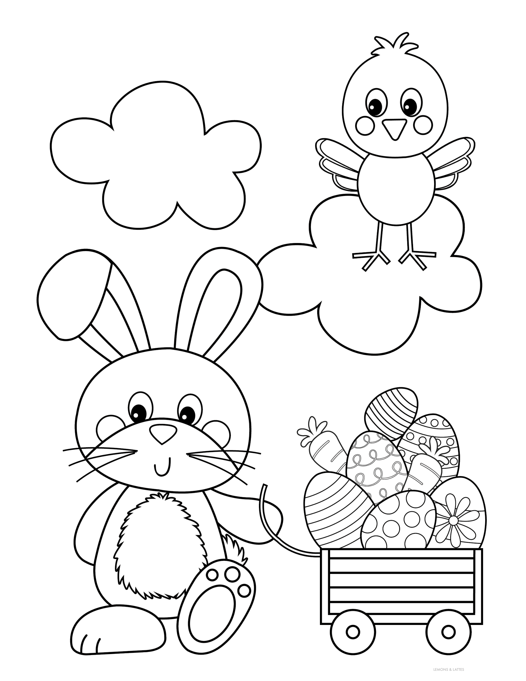 Free Printable Easter Coloring Pages Bunny Coloring Pages Easter Prints Easter Bunny Colouring