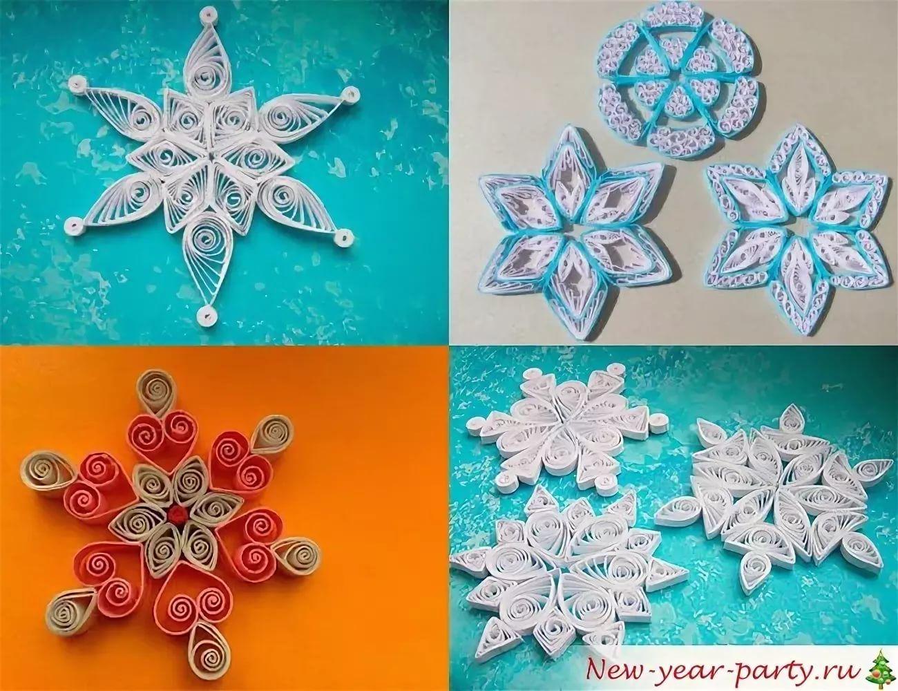 квиллинг снежинки схемы для начинающих: 11 тыс изображений ...