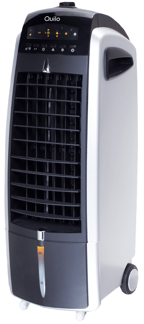 Quilo 2.0 evaporative cooling system packs an air purifier