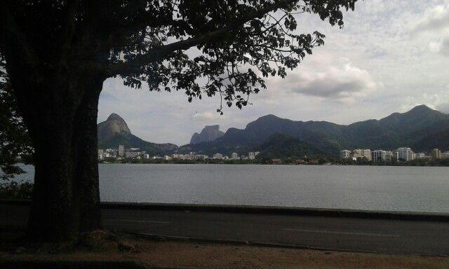 Lagoa Rodrigo de Freitas,  Rio de Janeiro,  Brasil.