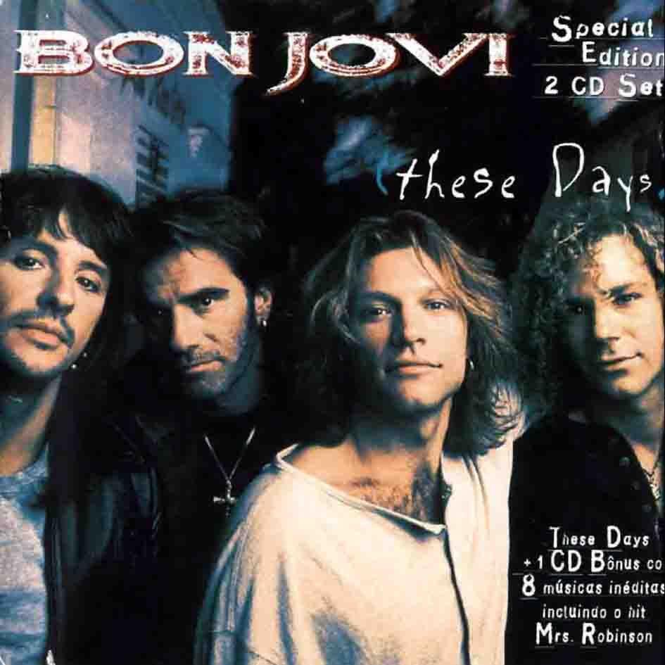 Bon Jovi These Days Special Edition Bon Jovi Jon Bon Jovi