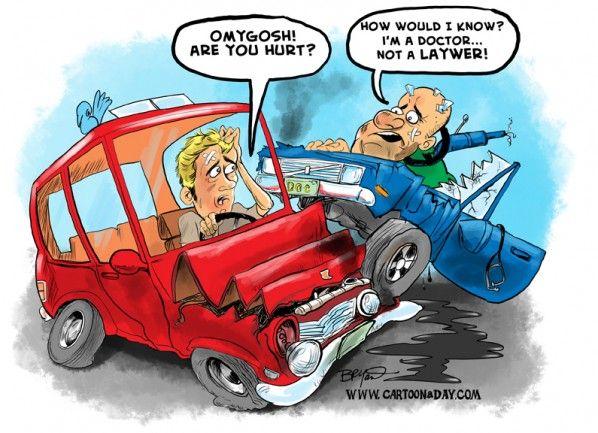 Today S Legal Humor Car Humor Car Crash Car