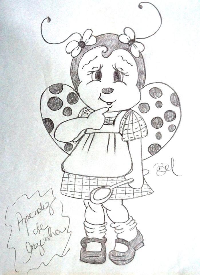 Pin de Yuly Alonso en dibujos infantiles | Pintura en tela, Pintar y ...