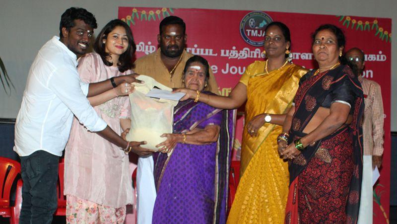 Director Atlee, Robo Shankar At Tamil Movie Journalists Association Pongal Celebration