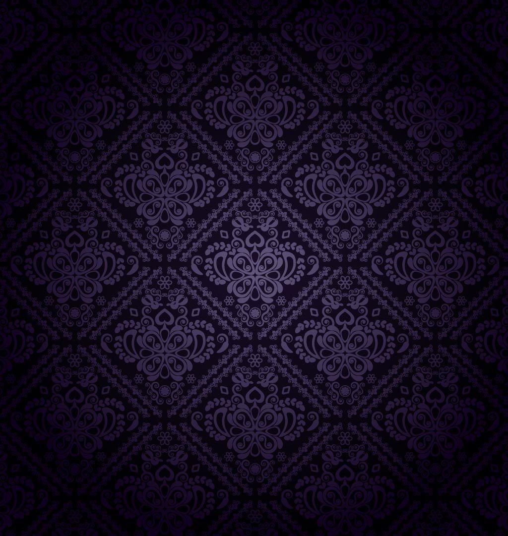 Dark purple backgrounds dark purple pattern vector for Dark pattern background