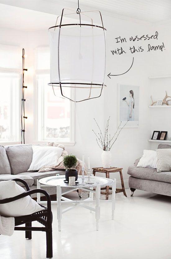 Ay Illuminate Cotton Lamps Interior Home Living Room