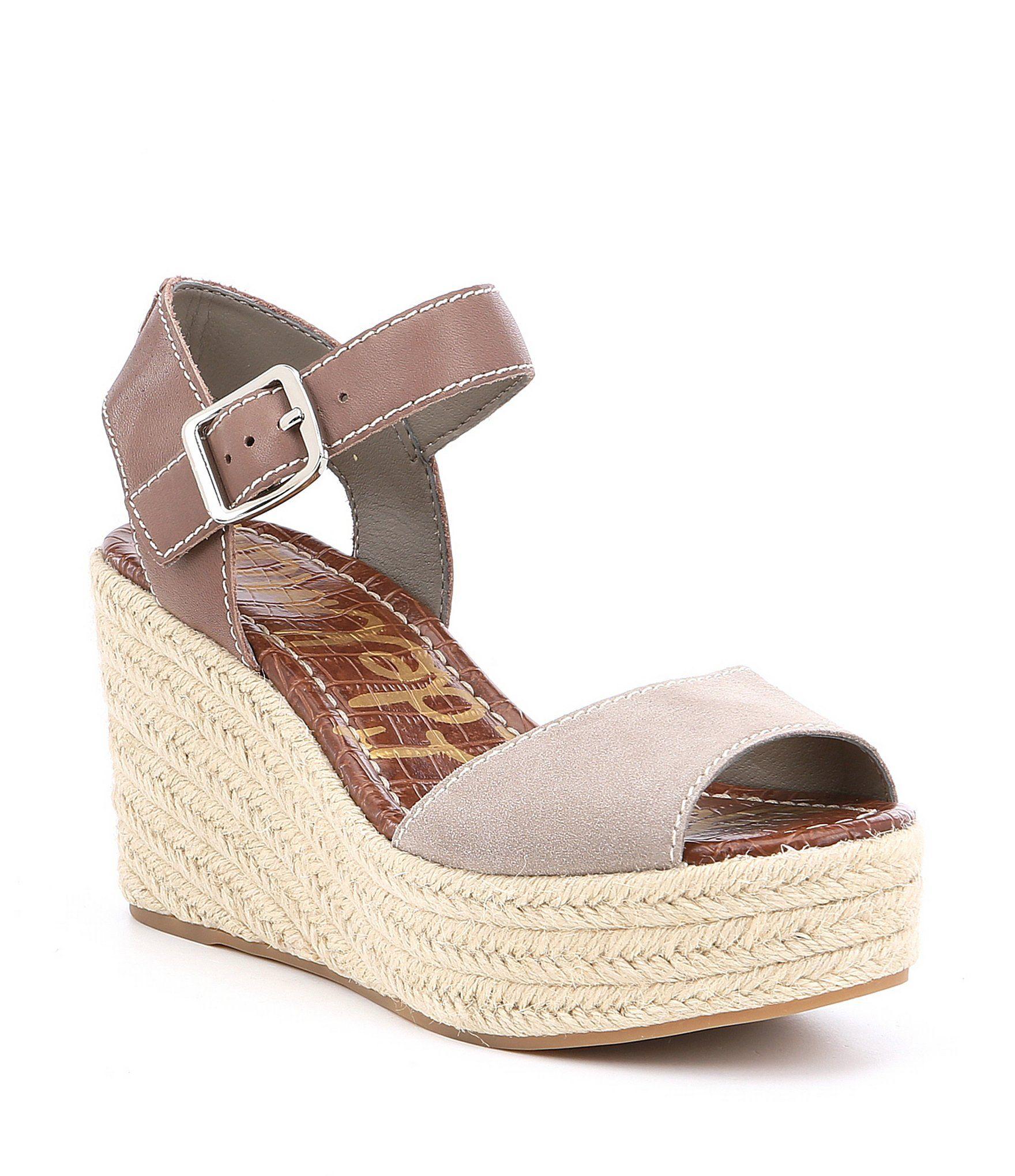 d99bc317d Shop for Pelle Moda Kauai Espadrille Suede Ankle Strap Wedge Sandals at  Dillards.com. Visit Dillards.com to find clothing, access…