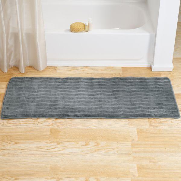 Windsor Home Memory Foam Extra Long Bath Rug Mat