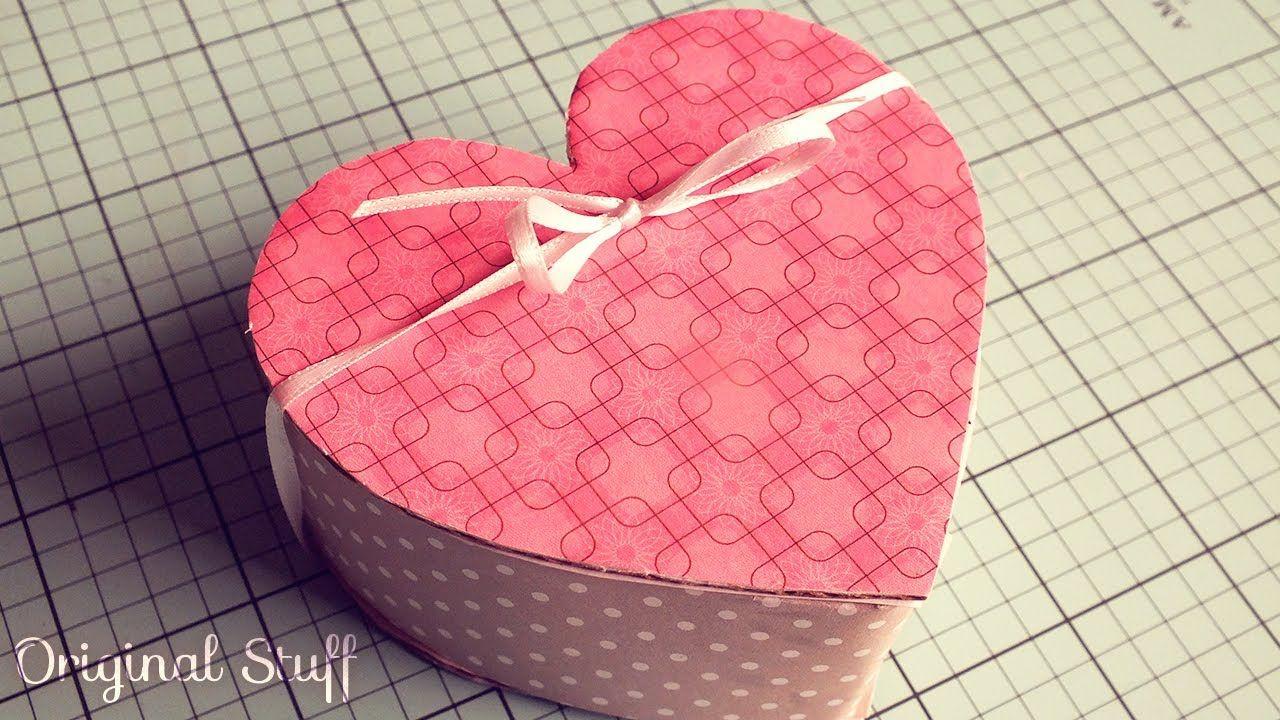 Caja De Regalo Coraz N San Valentin Original Stuff Cajas