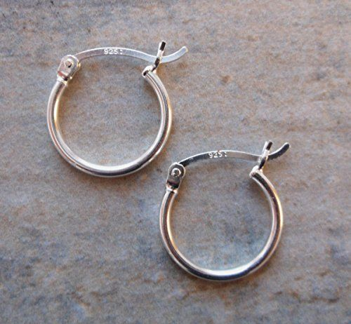 15mm Sterling Silver Hoops 1 5mm Thick Clutchandclasp Https