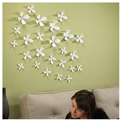 Wall Flower Wall Decor   Heather   Pinterest   Flower wall decor ...