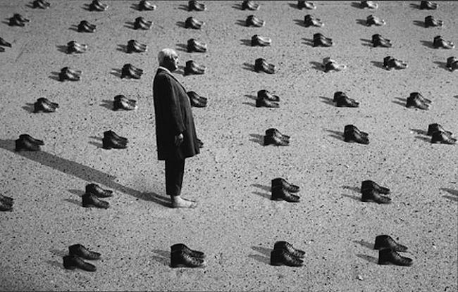 Fotógrafo francês Gilbert Garcin