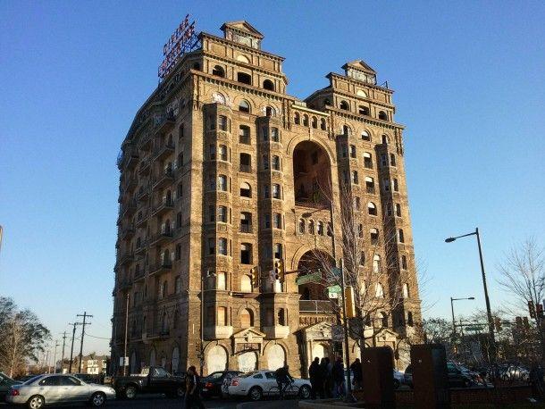 The Divine Lorraine Hotel Philadelphia PA x #abandoned #divine #lorraine #hotel #philadelphia #photography