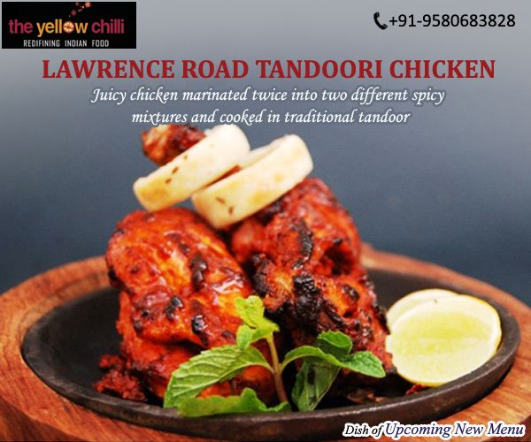 Our New Innovation Lawrence Road Tandoori Chicken By Chef Sanjeev Kapoor Try Our