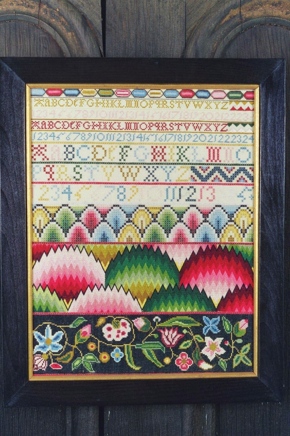 Our Scarlet Letter Years Gallery Cross stitch samplers