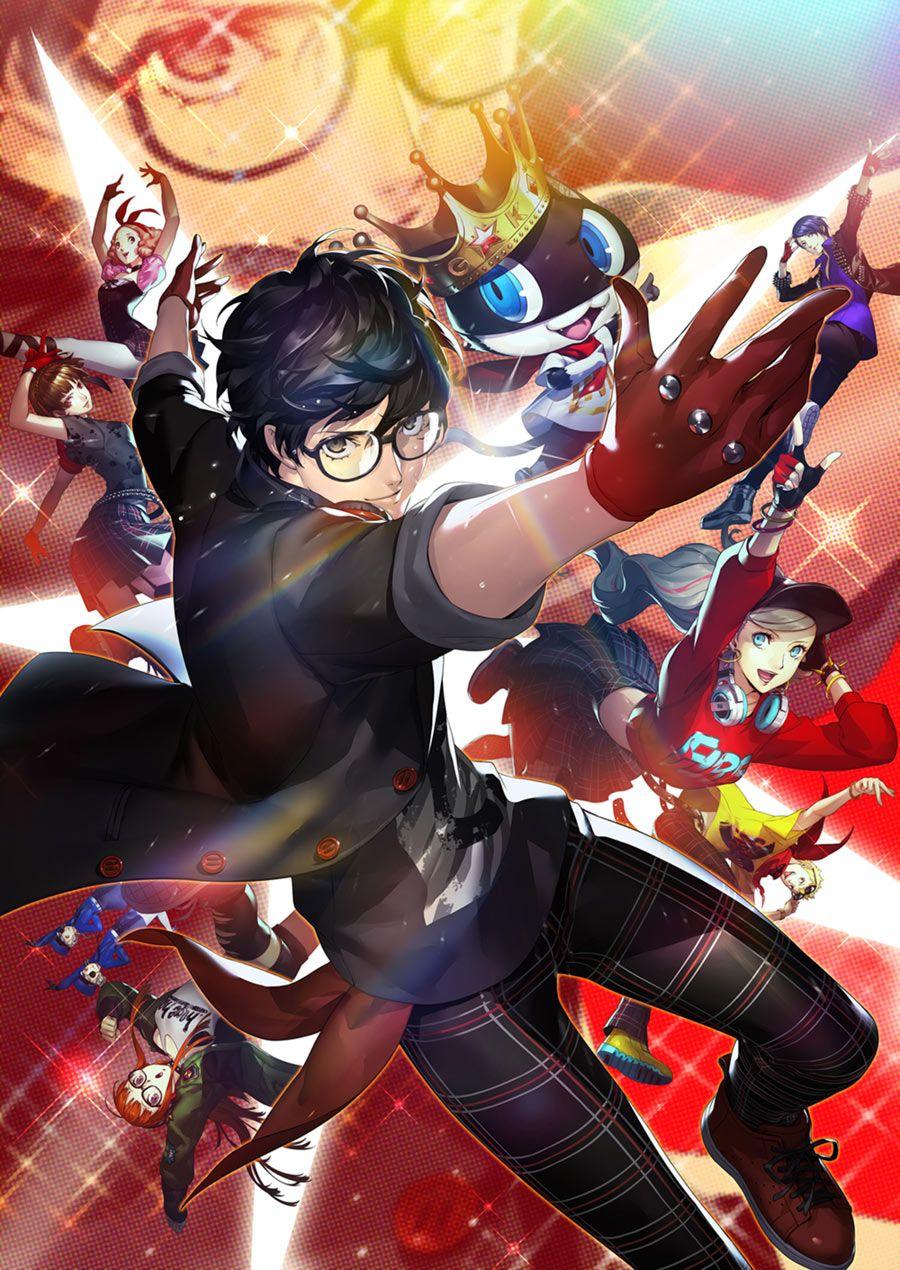 Box Art From Persona 5 Dancing In Starlight Art Illustration