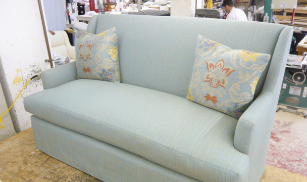McLaughlin Upholstering Company   Since 1889, McLaughlin Upholstering  Company Has Created Custom Upholstered Furniture Of