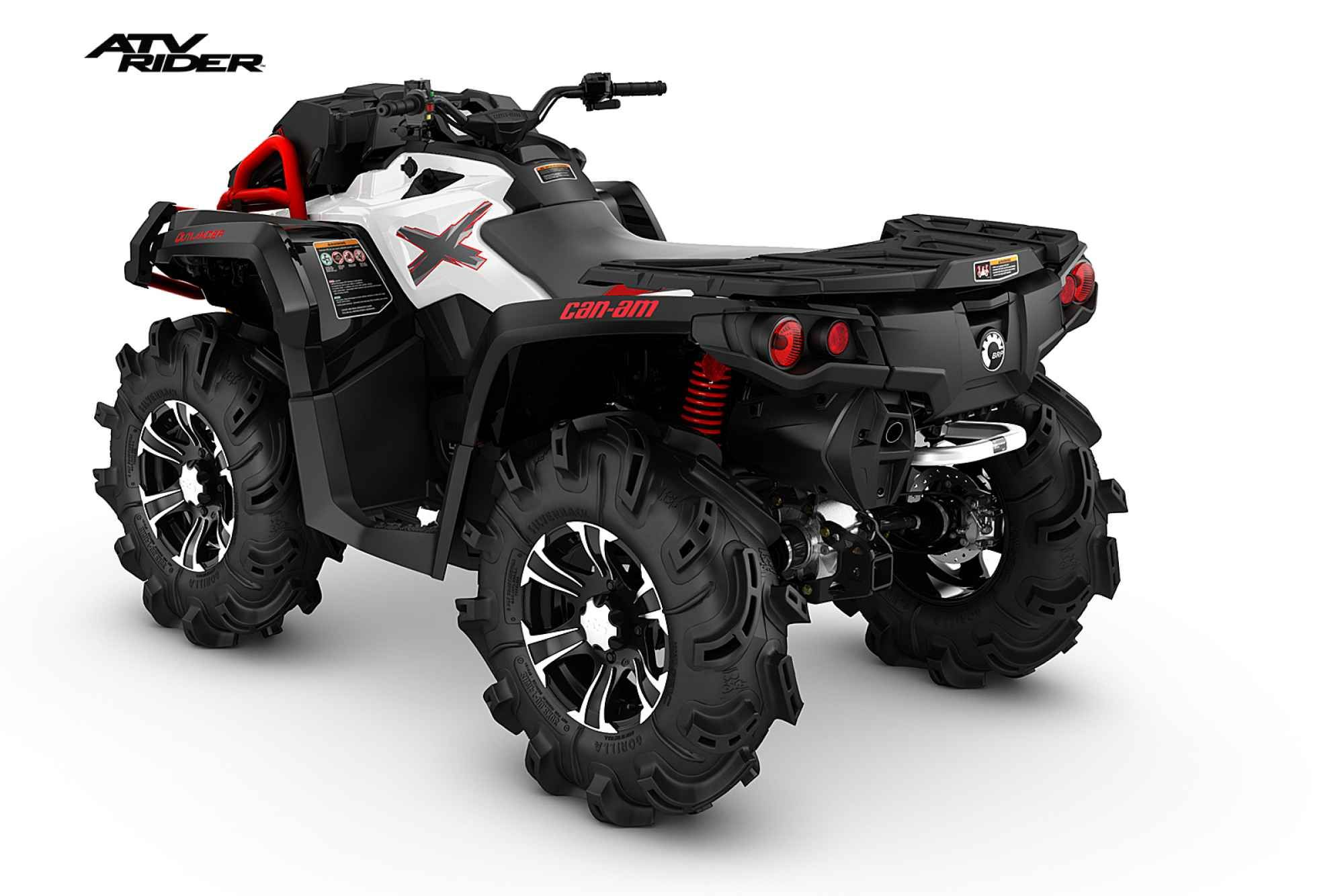 2016 Can Am Outlander X Mr 850 Atv Rider