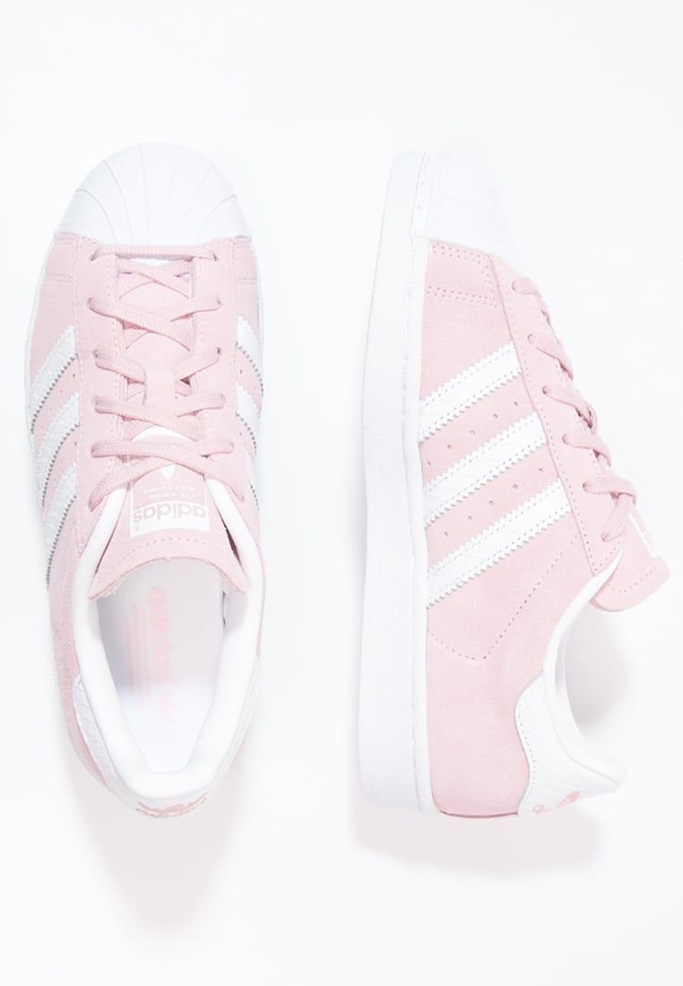 Femme Adidas 99 White Basses Originals Baskets Superstar Rose OOqdr