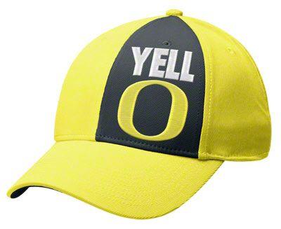 5ea889f5badd0 Oregon Ducks Nike Yellow Legacy91 Local Dri-FIT Swoosh Flex Hat ...