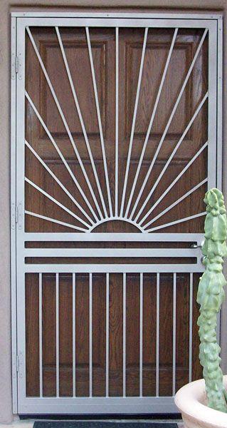 Phoenix Wooden Screen Door Door Gate Design Wooden Door Design