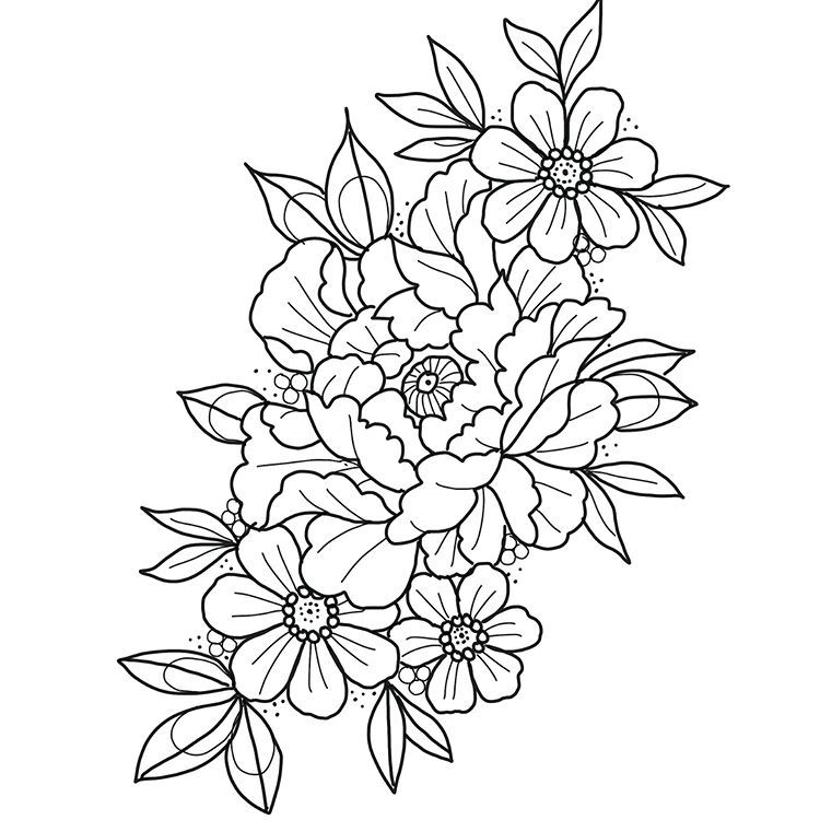 Both Available For July Bookings Please Email Either Black Work Or Colour A4 Size A Deposit Will Secure The Drawin Drawings Blackwork Flower Tattoo Designs