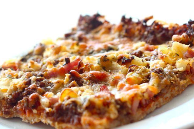 Soseessa: Gluteeniton pitsa