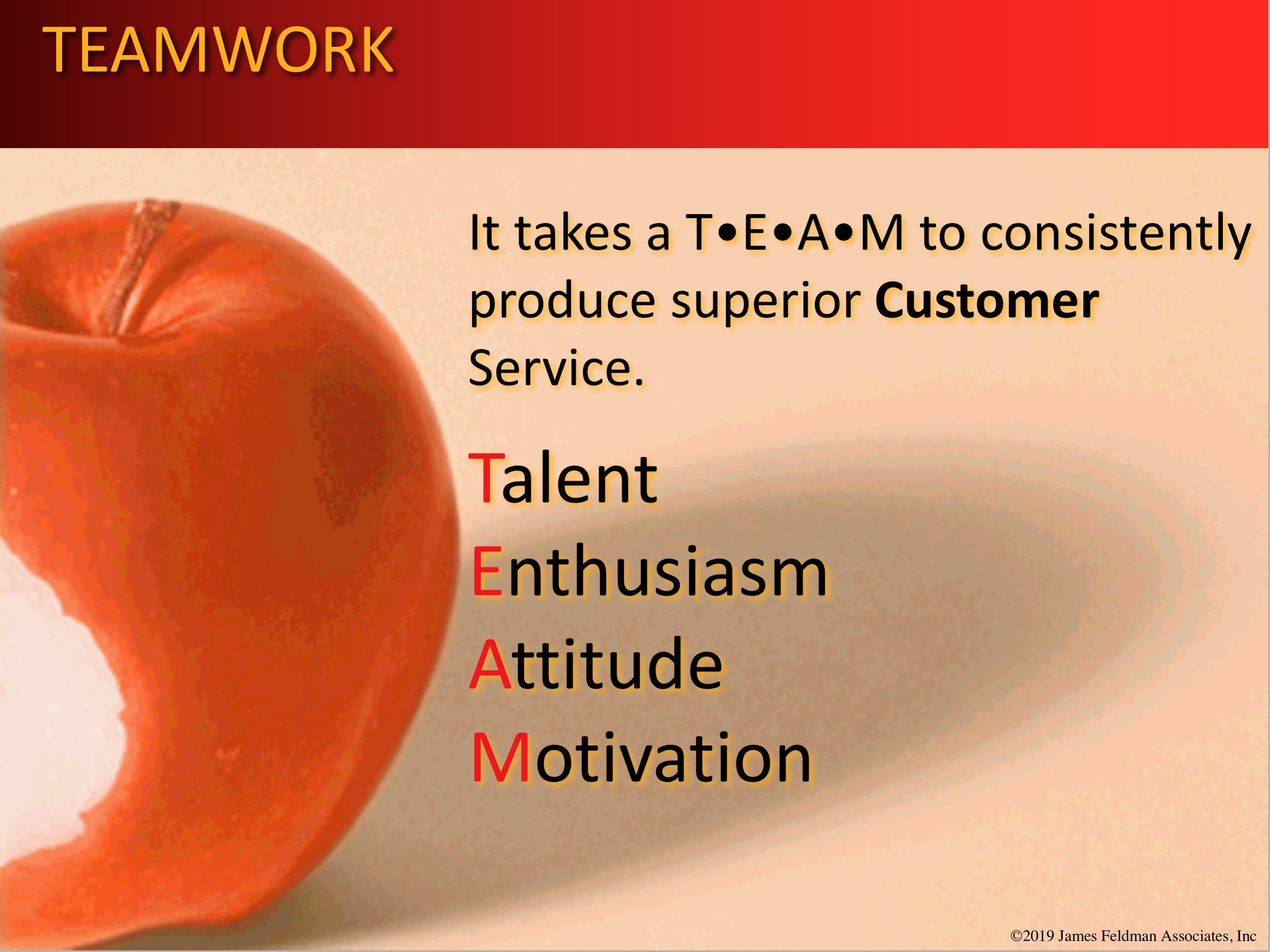 """There is no """"I"""" in TEAM work. Keep your employees engaged"""