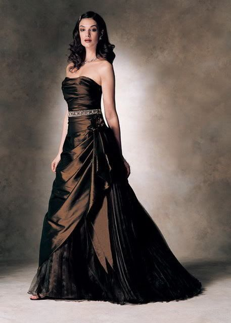Still In Love With The Idea Of Brown Brown Wedding Dress Stylish Wedding Dresses Chocolate Brown Dress