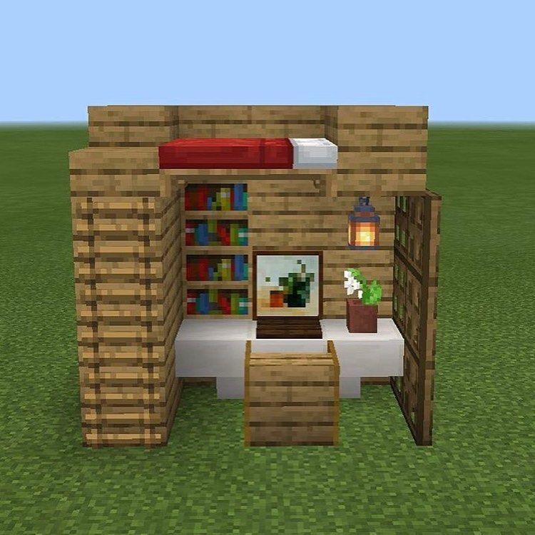 Office/dorm By @dandelion_builds Follow For More @mc
