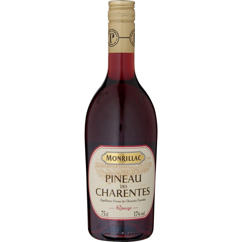 Pineau Des Charentes Rouge Monrillac La Bouteille De 75 Cl A