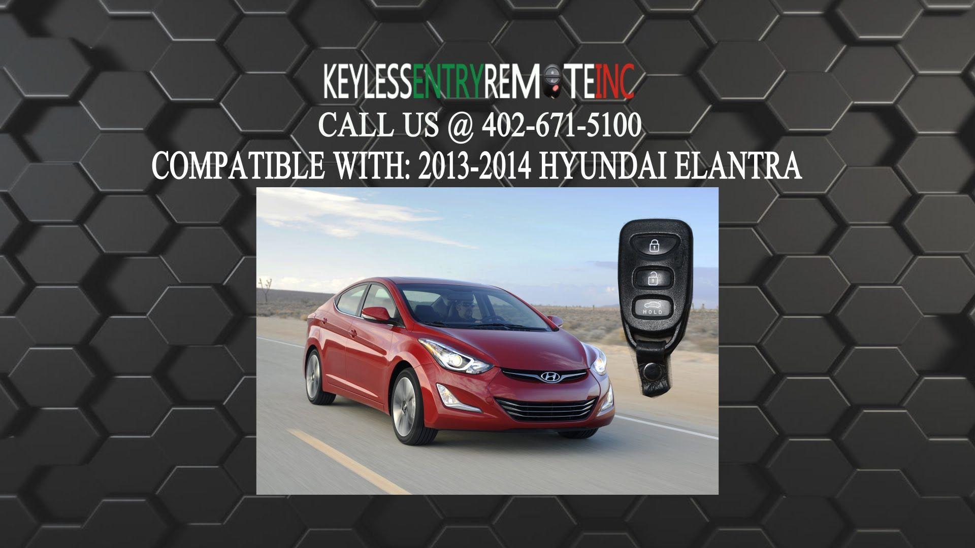 How To Replace A Hyundai Elantra Key Fob Battery 2011 2016 Part 9543 Hyundai Elantra Elantra Hyundai