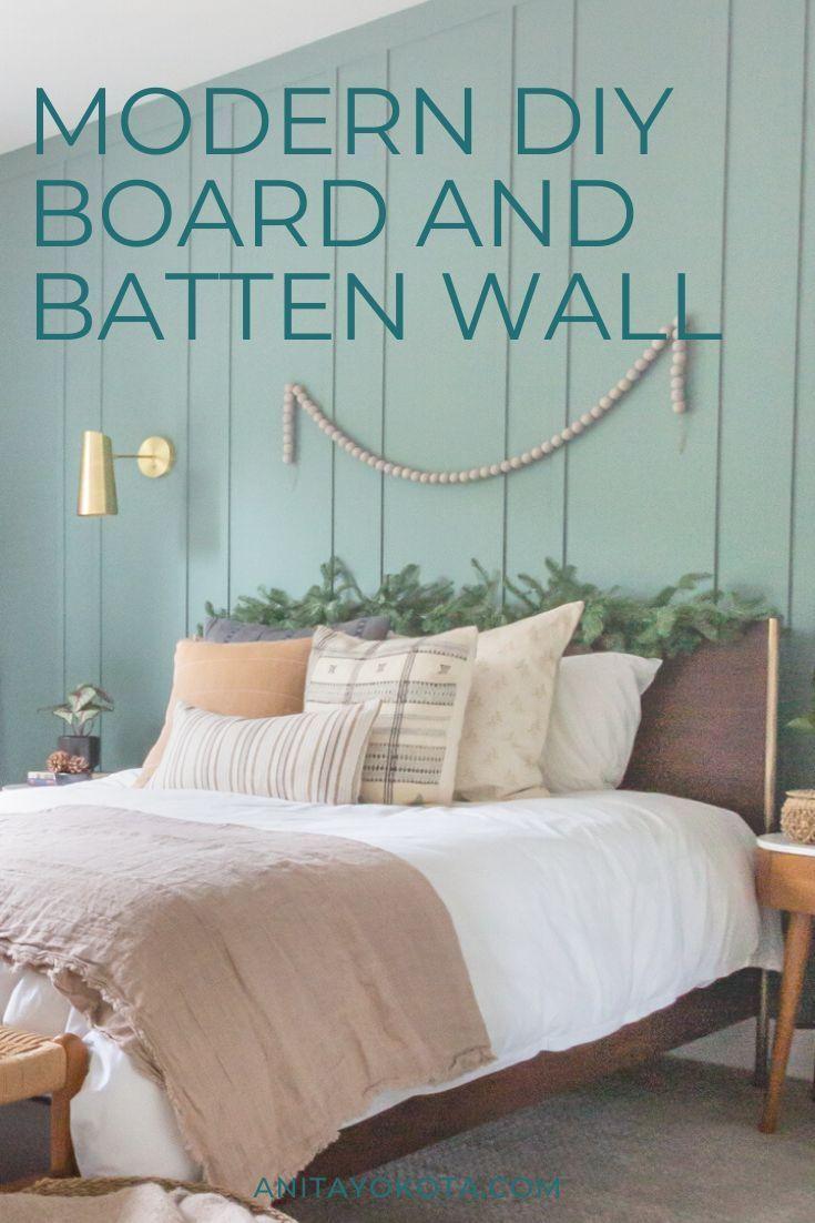 DIY board and batten – Anita Yokota