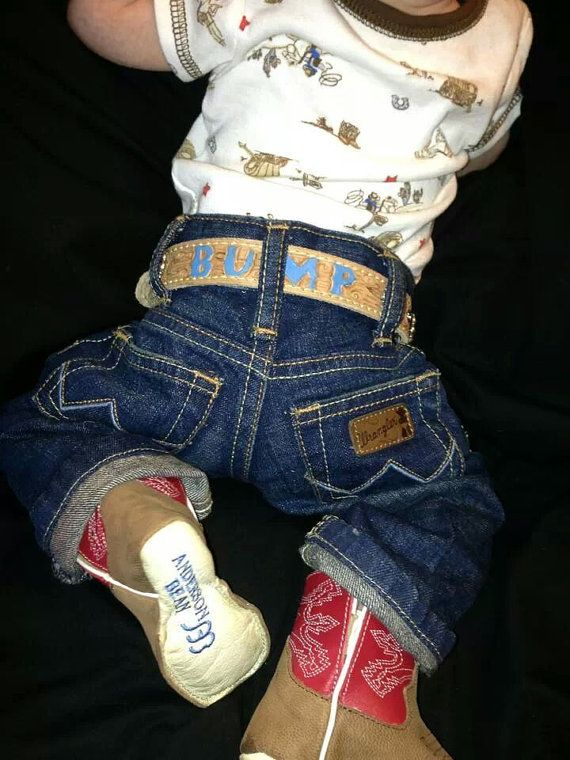 Cowbabies Western Belts For Infants By Jazzytack On Etsy